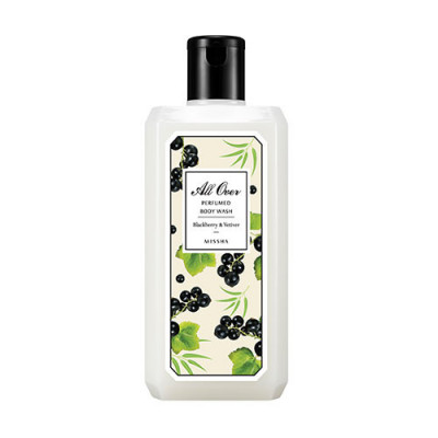 MISSHA All Over Perfumed Body Wash (Blackberry & Vetiver)